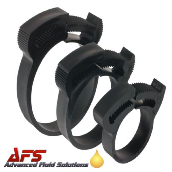 Herbie Nylon PA66 Snap-fit Hose Clips